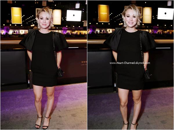 -    01/10/2015 : Kaley assistant au Longines Master Gala à Los Angeles.  -