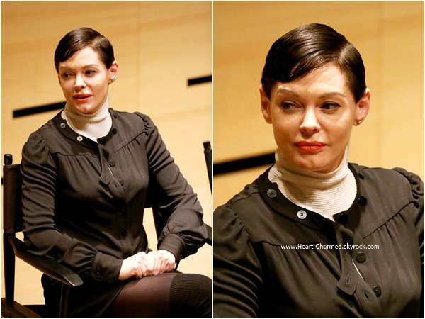 -    04/10/2015 : Rose assistant au The Woodstock Film Festival à New-York.  -