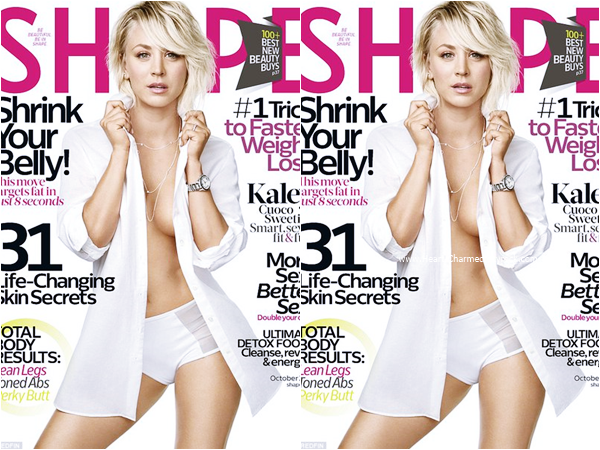 -    Shape Magazine : Découvrez Kaley en couverture du magazine Shape pour Octobre 2015.  -