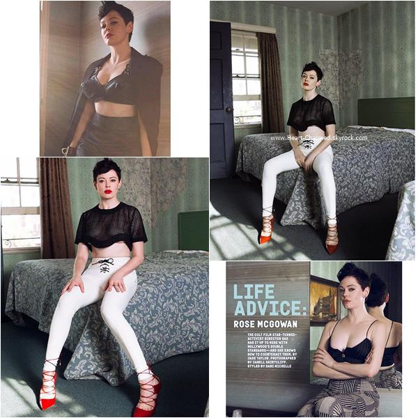 -    Nylon Magazine : Découvrez Rose pour le magazine Nylon pour Octobre 2015.  -