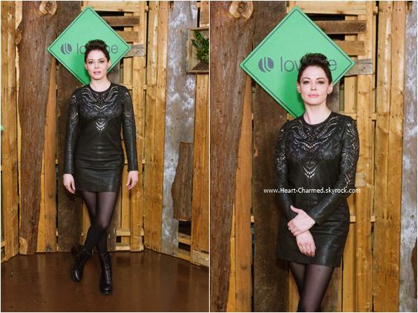 -    22/10/2015 : Rose assistant au Lowline Anti Gala à New-York.  -