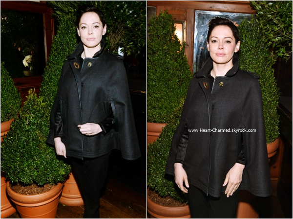 -    26/10/2015 : Rose assistant au The Tribeca Chanel Women's Filmmaker Program à New-York.  -