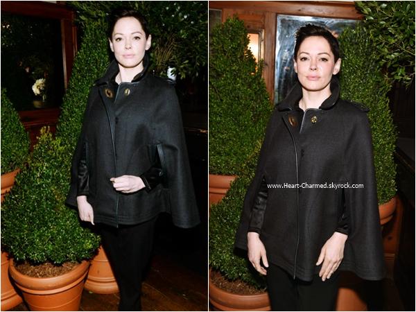 -    26/10/2015 : Rose assistant au The Tribeca Chanel Women's Filmmaker Program à New-York.  -