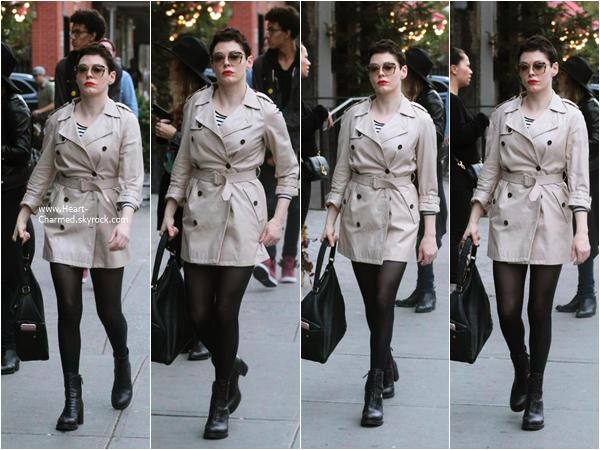 -    06/11/2015 : Rose se promenant dans les rues de New-York.  -