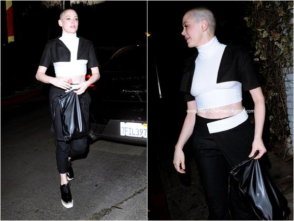 -    22/11/2015 : Rose et son mari Davey dans les rues de Los Angeles.  -
