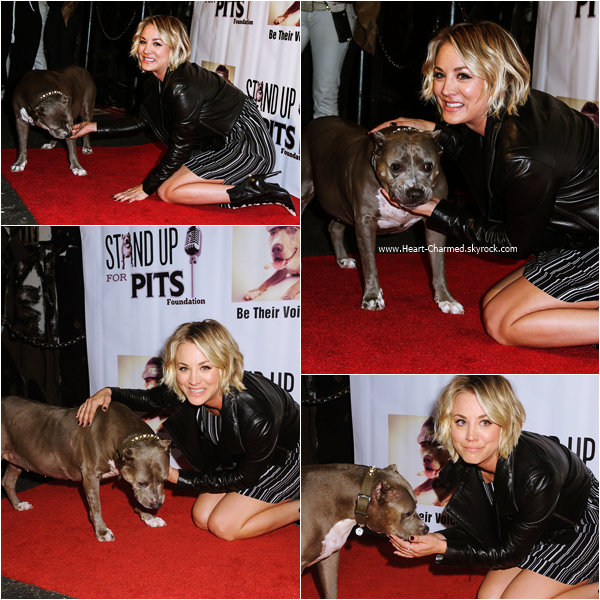 -    08/11/2015 : Kaley assistant au Stand Up For Pits Comedy Benefit à Hollywood.  -