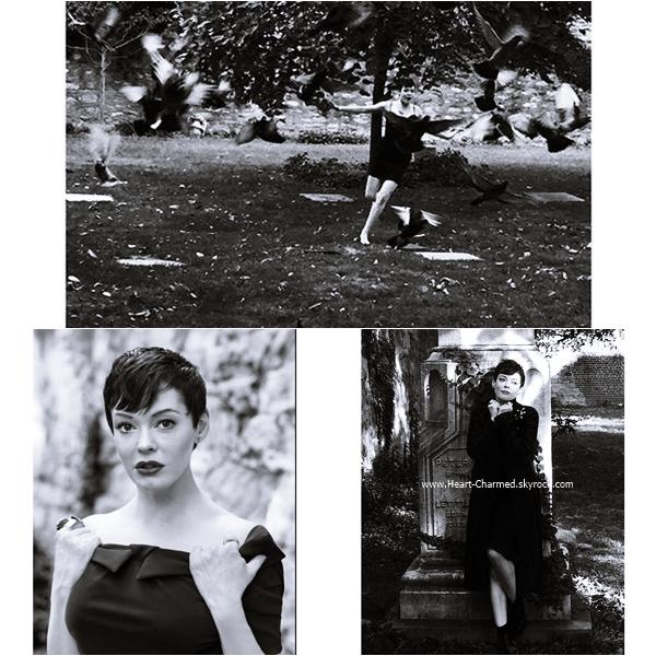 -    Photoshoot : Découvrez un photoshoot de Rose pour le magazine Reserved.  -