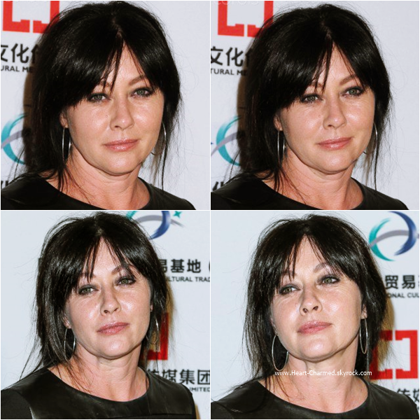 -    27/01/2016 : Shannen et Holly assistant au LA Art Show and Los Angeles Fine Art Show's 2016 à Los Angeles.  -