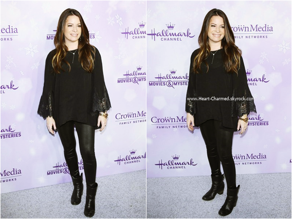 -    08/01/2016 : Holly assistant au Hallmark Channel and Hallmark Movies and Mysteries Winter 2016 TCA à Los Angeles.  -