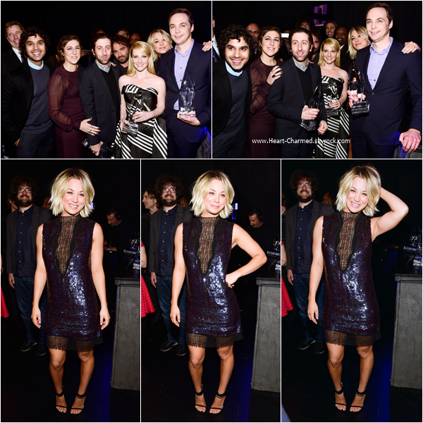 -    06/01/2016 : Kaley assistant aux People's Choice Awards 2016 à Los Angeles.  -