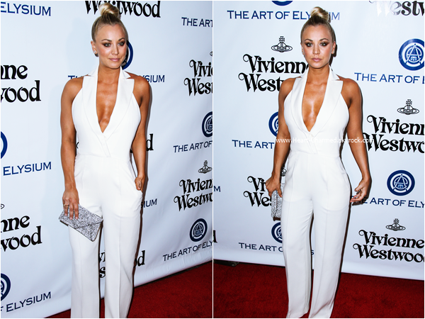 -    09/01/2016 : Kaley assistant au The Art of Elysium 2016 HEAVEN Gala à Culver City.  -