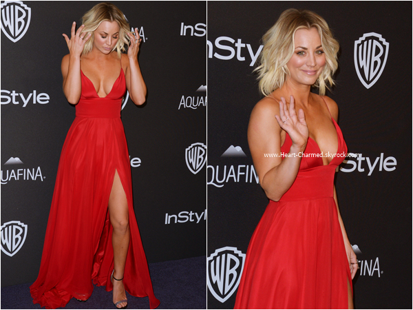 -    10/01/2016 : Kaley assistant au InStyle And Warner Bros. Golden Globe Awards Post-Party à Beverly Hills.  -