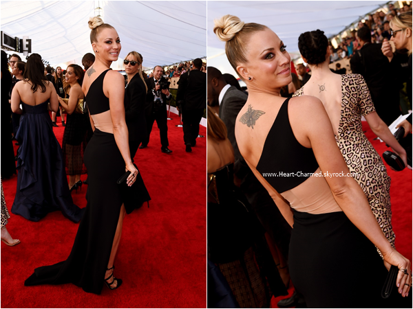 -    30/01/2016 : Kaley assistant au 22nd Annual Screen Actors Guild Awards à Los Angeles.  -