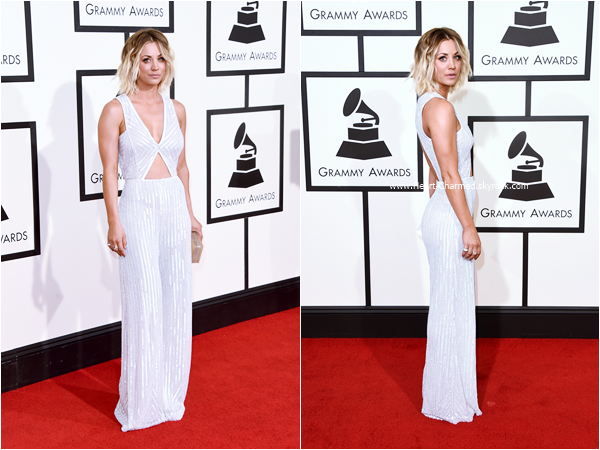 -    15/02/2016 : Kaley assistant au 58th Annual GRAMMY Awards à Los Angeles.  -