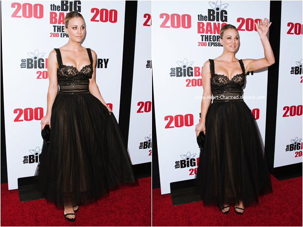 -    20/02/2016 : Kaley assistant au The Big Bang Theory 200th Episode Celebration à Los Angeles.  -