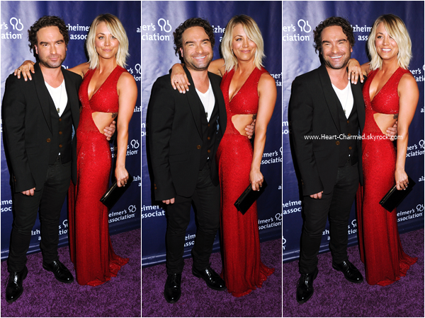 -    09/03/2016 : Kaley assistant au 24th annual Alzheimer's Association 'A Night at Sardi's' à Beverly Hills.  -
