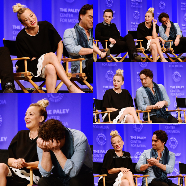 -    16/03/2016 : Kaley assistant au 33rd Annual Paleyfest à Los Angeles.  -