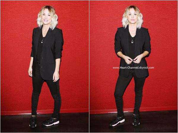 "-    18/03/2016 : Kaley assistant au Opening Of Monterey Media Inc.'s ""Burning Bodhi"" à Los Angeles.  -"