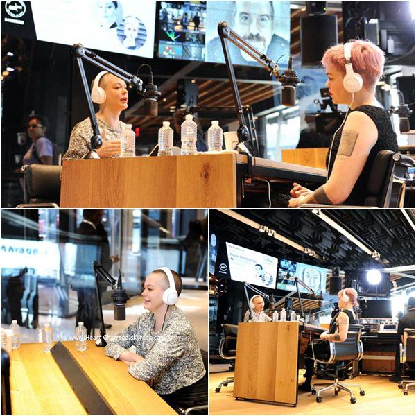 -    09/03/2016 : Rose assistant à l'émission de radio Live Talkhouse à New-York.  -