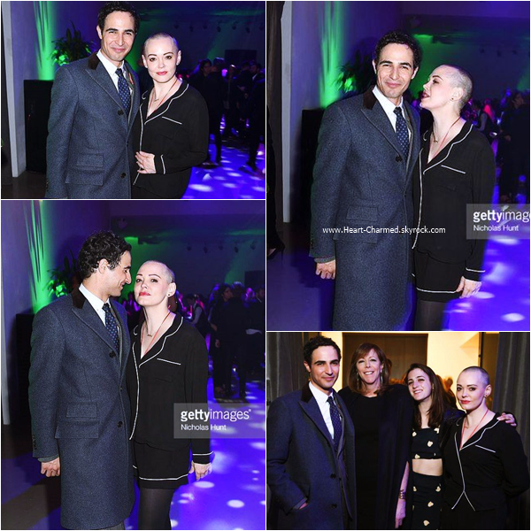 -    13/04/2016 : Rose assistant au 2016 Tribeca Film Festival Opening Night Party à New-York.  -