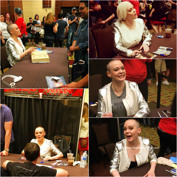 -    30/04 - 01/05/2016 : Rose assistant au Texas Frightmare Weekend au Texas.  -