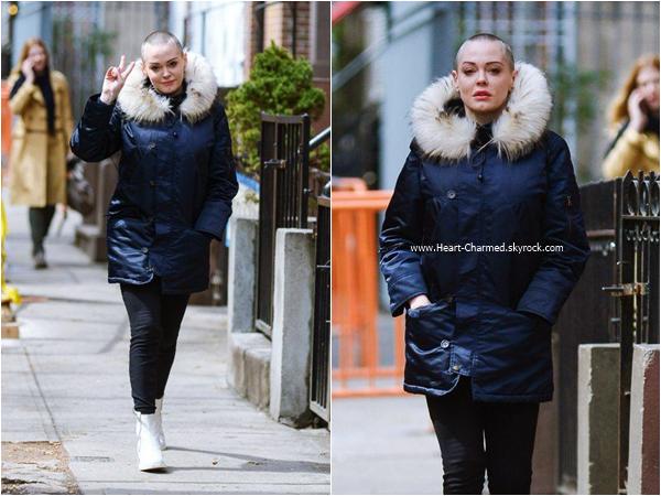 -    12/04/2016 : Rose se promenant à Manhattan.  -
