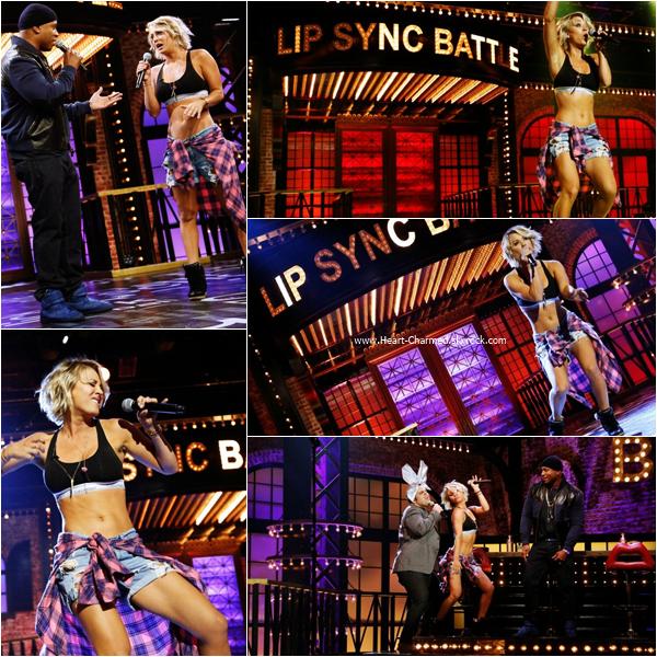 -    28/01/2016 : Kaley sur le plateau de l'émission Lip Sync Battle.  -