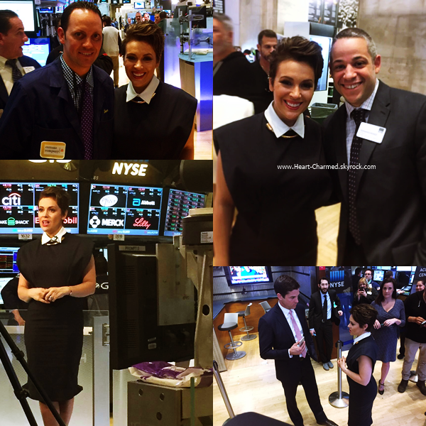-    07/04/2016 : Alyssa assistant au Meeting With New York Stock Exchange à New-York.  -