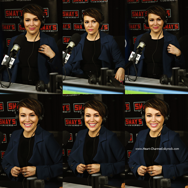 -    08/04/2016 : Alyssa à la radio SiriusXM à New-York.  -