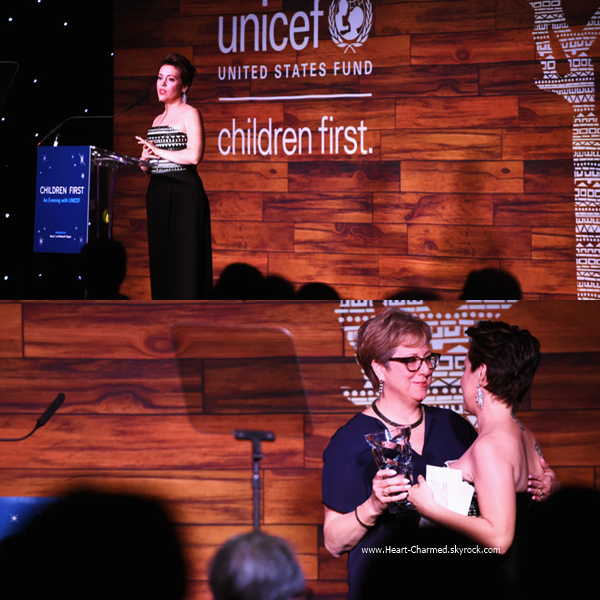 -    16/04/2016 : Alyssa assistant au Children First. An Evening With UNICEF à Dallas.  -