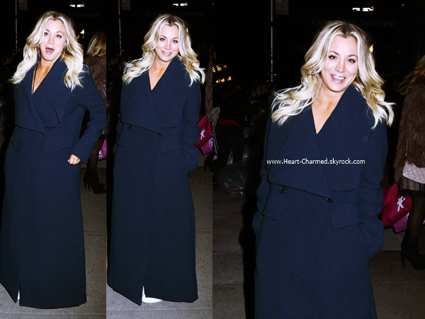 -    18/05/2016 : Kaley se rendant au 2016 CBS Universal Upfront After Party à New-York.  -