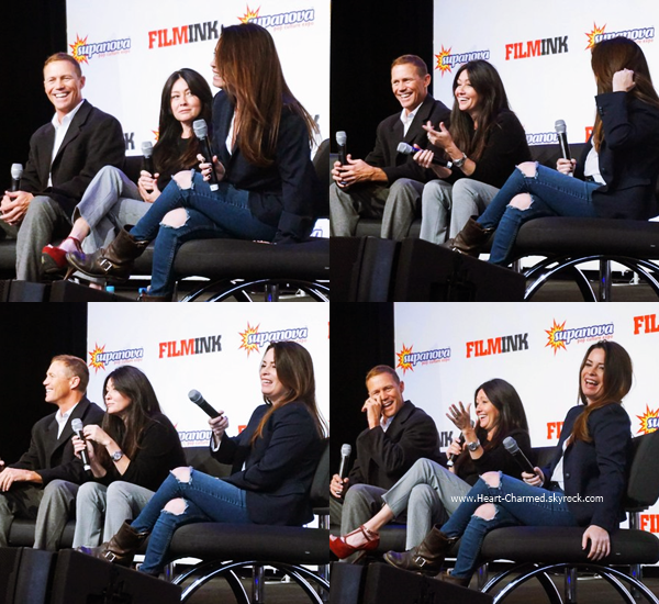 -    25/06/2016 : Shannen, Holly et Brian Krause assistant à la Supanova à Perth.  -