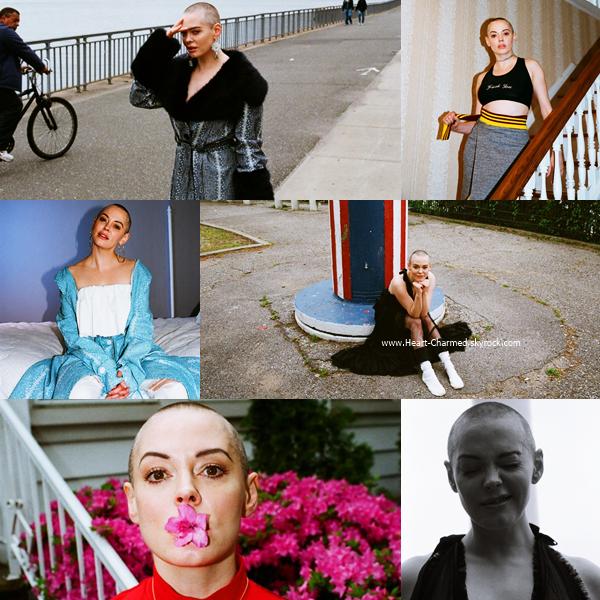 -    Photoshoot : Découvrez un photoshoot de Rose pour le magazine Dull.  -