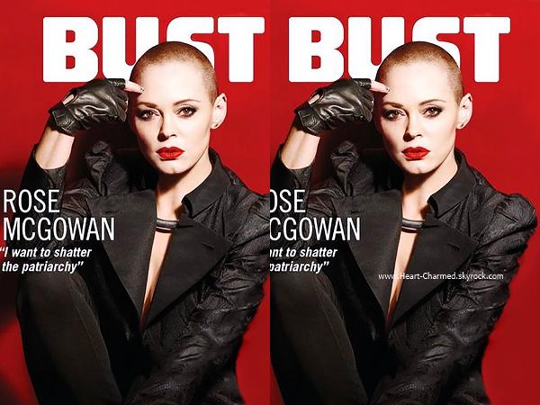 -    BUST Magazine : Découvrez Rose en couverture du magazine BUST de Novembre.  -