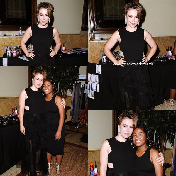 -    24/08/2016 : Alyssa assistant à la Make-A-Wish Greater Los Angeles Fashion Fundraiser à Los Angeles.  -
