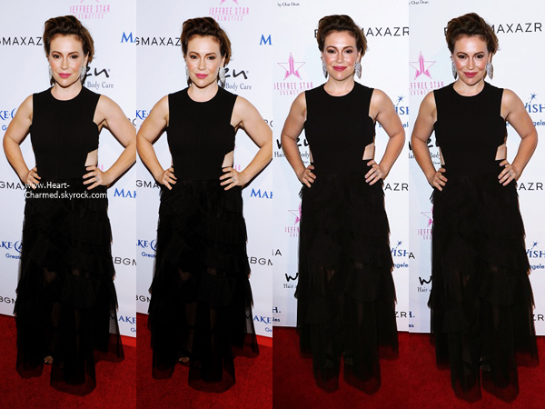 -    24/08/2016 : Alyssa assistant à la Make-A-Wish Greater Los Angeles Fashion Fundraiser à Los Angeles.  -