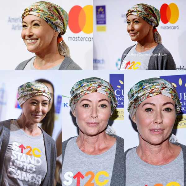 -    09/09/2016 : Shannen assistant au Hollywood Unites For The 5th Biennial Stand Up To Cancer à Los Angeles.  -