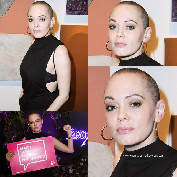 -    10/09/2016 : Rose assistant au Sexy Beast for Planned Parenthood LА à Los Angeles.  -