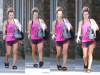 -    15/09/2016 : Kaley quittant son cours de yoga à Studio City.  -
