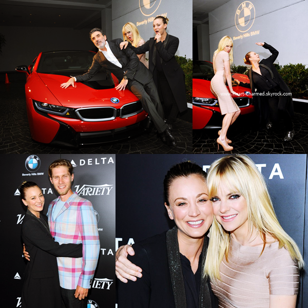 -    24/10/2016 : Kaley assistant au Variety's Hollywood's New Leaders of 2016 Summit à Hollywood.  -