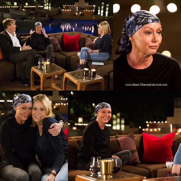 -    28/10/2016 : Shannen sur le plateau de l'émission Chelsea Handler Show à Los Angeles.  -