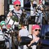 -    31/10/2016 : Shannen quittant le Рavilions Market à Malibu.  -
