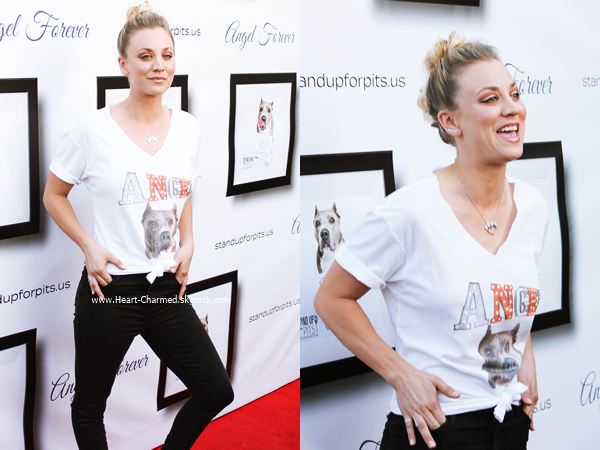 -    05/11/2016 : Kaley assistant au Hollywood Improve Stand up For Pits Event à Los Angeles.  -