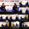 -    12/11/2016 : Holly et Lucy Hale assistant à la Convention Supanova à Sydney.  -
