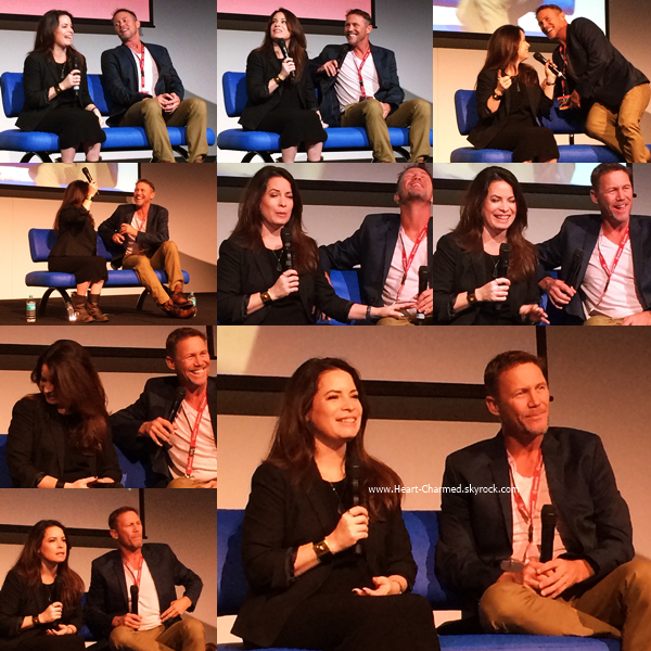 -    13/11/2016 : Holly et Brian Krause assistant à la Convention Supanova à Sydney.  -