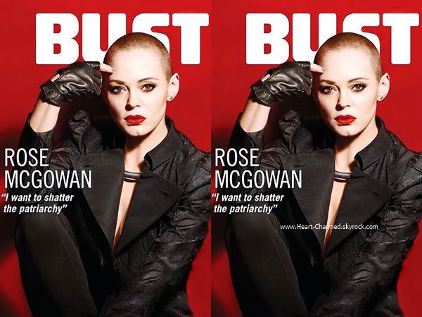 -    MAGAZINE : Rose en couverture du magazine BUST de Novembre.  -