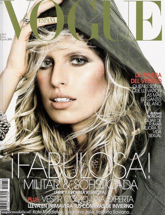 Karolina Kurkova - Vogue Spain, january 2011.