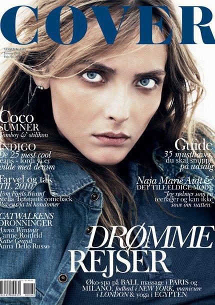 Snejana Onopka - Cover, january 2011.