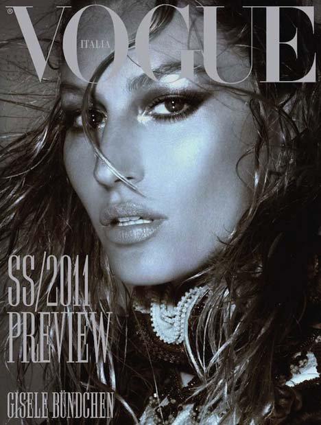 Gisèle Bündchen - Vogue Italia, december 2010.