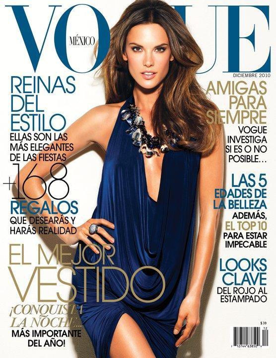 Alessandra Ambrosio - Vogue Mexico, december 2010.
